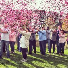 Gender Reveal Confetti Cannons to capture the reveal of your newest family member! Confetti Cannon Gender Reveal, Gender Reveal Confetti Poppers, Gender Party, Baby Gender Reveal Party, Gender Reveal Smoke Bomb, Baby Shower Balloons, Reveal Parties, How To Make Notes, Holi