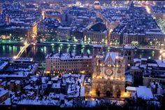 Lyon, Cathedrale St Jean, France