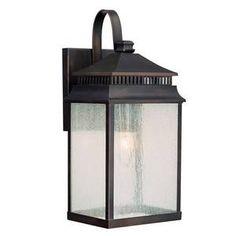 "$132 Capital Lighting C9111OB ""Sutter Creek"" Outdoor Entrance Wall Light  Shop.Ferguson.com!"