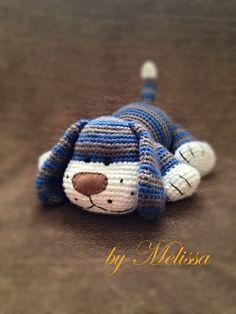 Sweet dog handmade by Ülkü. Free pattern