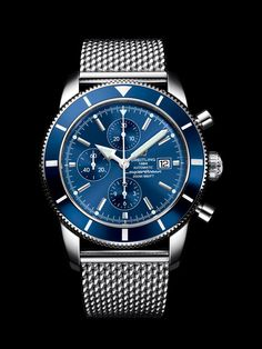 Diesel Men's Mr Daddy Quartz Stainless Steel and Leather Chronograph Watch, Color: Black, Brown (Model: – Fine Jewelry & Collectibles Breitling Superocean Heritage, Breitling Navitimer, Breitling Watches, Cool Watches, Watches For Men, Men's Watches, Swiss Luxury Watches, Watches Photography, Mechanical Watch