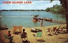 Farm Island Lake Aitkin Minnesota