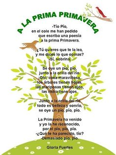 Poesía de primavera Spanish Language, Short Stories, School Supplies, Literacy, Martini, Romantic, Songs, Teaching, Education