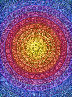 Psychedelic Art and Illustration Tatoo Tree, Hamsa Art, Visionary Art, Sacred Art, Psychedelic Art, Pics Art, Doodle Art, Mandala Doodle, Geometric Art