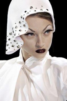 Marcelina Sowa for Christian Dior Haute Couture Fall 2008