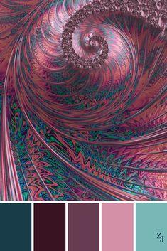 ZJ Colour Palette 390 #colourpalette #colourinspiration