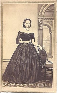CDV by P. B. Jones, Cor. 2nd & Main Streets, Davenport, Iowa. There is a glue spot on the back, where a Civil War Revenue Stamp has fallen off