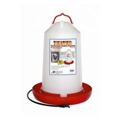 3 Gal Heated Poultry Waterer $49,99