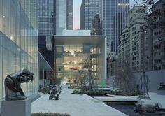 【一站•大师】纽约现代艺术博物馆(MOMA)| 菲利普·约翰逊&西萨·佩里&谷口吉生