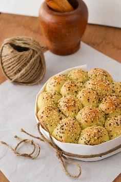 Dill and Cream cheese potato rolls