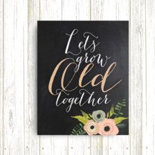 Typography in Prints & Posters - Etsy Art - Page 5