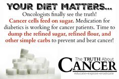 Oncologists often tell their cancer patients to eat whatever they want. Find out why this advice is not only WRONG, but can actually prove deadly. Click on the image to read on!