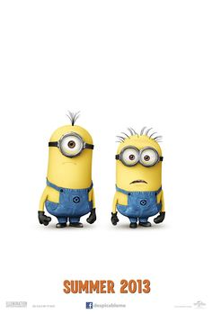 The first teaser for Despicable Me 2! I can't wait!!!!