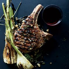 Pork Chops with Fennel and Juniper | Food & Wine
