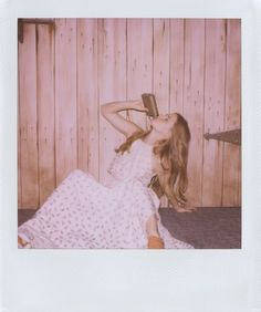 Amy Adams by Band of Outsiders' new Polaroid campaign