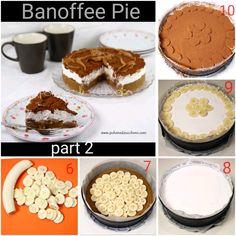 Il tutorial completo di ricetta per realizzare la buonissima Banoffee Pie lo trovate sul mio blog a questo link Banoffee Pie tutorial http://www.polveredizucchero.com/2018/03/banoffee-pie-tutorial-il-passo-passo.html  The tutorial, complete with recipe, to make the delicious Banoffee Pie can be found on my blog at this link http://www.polveredizucchero.com/2018/03/banoffee-pie-tutorial-il-passo-passo.html