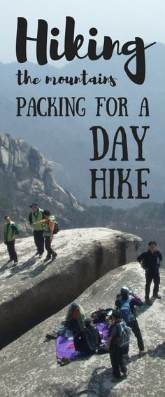 Packing for a day hike. Hiking packing list for beginners for day hikes or vacation. Hiking tips when you're out on hiking trails as your workout! There's some essential hiking gear, whether it's a short or long day hike, summer hiking in hot weather or w Hiking Gear List, Backpacking Tips, Hiking Tips, Camping And Hiking, Outdoor Camping, Outdoor Travel, Camping Hacks, Camping Outdoors, Camping Gear