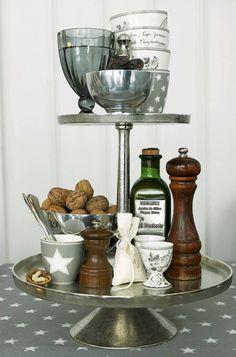 Etagere voor keukenspullen & servies