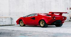 the 1982 Geneva Motor Show, Lamborghini presented the next evolution of the outrageously styled Countach – and comprehensively stole the show. Now, the LP500S is being rediscovered by the collector community...