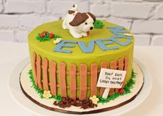 Pokey little puppy cake - Cake by Pearls and Spice