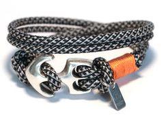 Anker Armband Pfeffer & Salz von LeChatVIVI BERLIN®