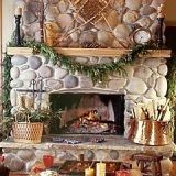 Standout Rustic Stone Fireplace Designs . . . Monuments In Stone!