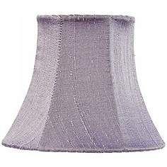 Lavender Silk Shade 3x5x4.25 (Clip-On)