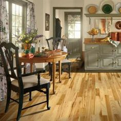 Bruce Hickory Country Natural 3/4 in. Thick x 2-1/4 in. Width x Random Length Solid Hardwood Flooring-AHS601 at The Home Depot