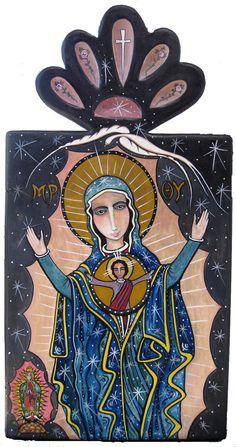N.S. de Guadalupe ©Virginia Maria Romero / SOLD