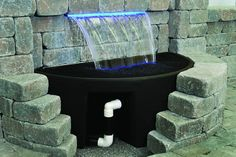 Atlantic Water Gardens Formal Spillways and Colorfalls with Colorfall Basins Available at DIY Home Center