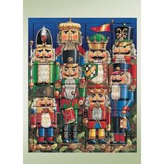 Carolers Nutcracker Advent Calendars ** This is an Amazon Affiliate link. Be sure to check out this awesome product.