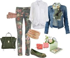 """""""Knock-Out Jeans"""" by seaclass on Polyvore"""