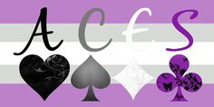 ACES on Gray-Asexual flag by Asexual ACES
