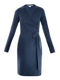 Linda dress, blue colorway