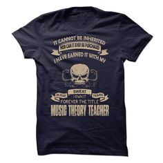 Proud Be A Music Theory Teacher T-Shirts, Hoodies. BUY IT NOW ==► Funny Tee Shirts