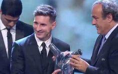 Messi fue elegido mejor jugador de Europa y destronó a Cristiano Ronaldo Diario El Día - La Plata, Buenos Aires, Argentina