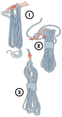 Butterfly cord knot- Field & Stream Knot Guide