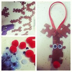 Rudolph DIY Christmas Ornaments
