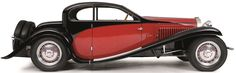 BUGATTI - TYPE 50T COACH PROFILEE - 1932
