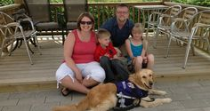 National Service Dogs' Certified Service Dogs for Autism are valued at $30,000 over their eight to ten year working life; however, they are provided to families free of charge.
