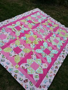 Glamping Quilt by lizziDroege on Etsy
