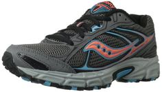 Saucony Women's Cohesion TR7 Trail Running Shoe,Grey/Blue/Coral,8.5 M US Discount !! - http://trailrunningshoes.hzhtlawyer.com/saucony-womens-cohesion-tr7-trail-running-shoegreybluecoral8-5-m-us-discount/