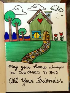 Little House Doodle - By: Diane Bleck
