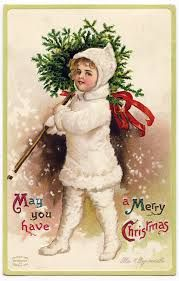 antique christmas cards - Google Search