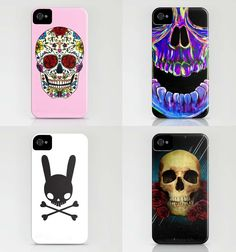 Skull Cases for Iphone by Society6