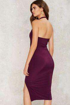 Raise Your Twist Slit Dress - Clothes   Going Out   Midi + Maxi