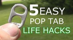 5 Easy Pop Tab Life Hacks!