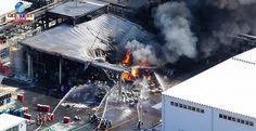 Incêndio em fábrica de Ibaraki: ordem de evacuação para 749 famílias