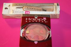 Physicians Formula Happy Booster Blush 7324 Natural & CONCEAL Rx #2723 Lot of 2  #PhysiciansFormula