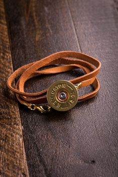Shotgun Shell Wrap Bracelets on BourbonandBoots.com